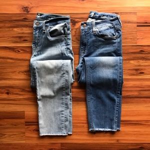 7 for all mankind skinny jeans bundle 28